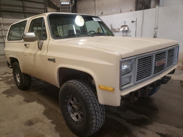 GMC salvage cars for sale: 1985 GMC Jimmy K150
