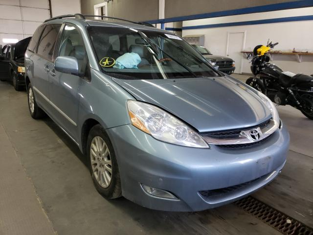 Salvage cars for sale from Copart Pasco, WA: 2007 Toyota Sienna XLE