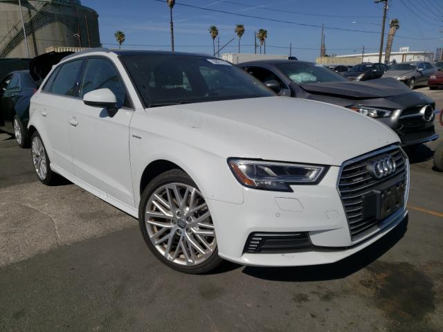 Salvage cars for sale from Copart Wilmington, CA: 2018 Audi A3 E-Tron