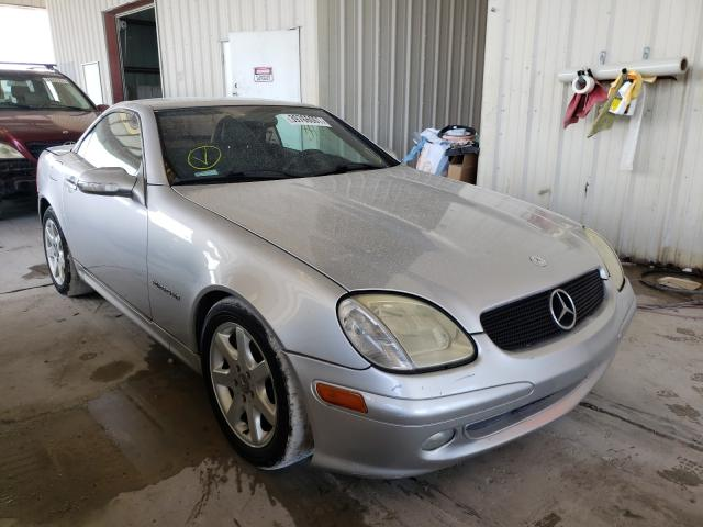 Salvage cars for sale from Copart Homestead, FL: 2002 Mercedes-Benz SLK 230 KO