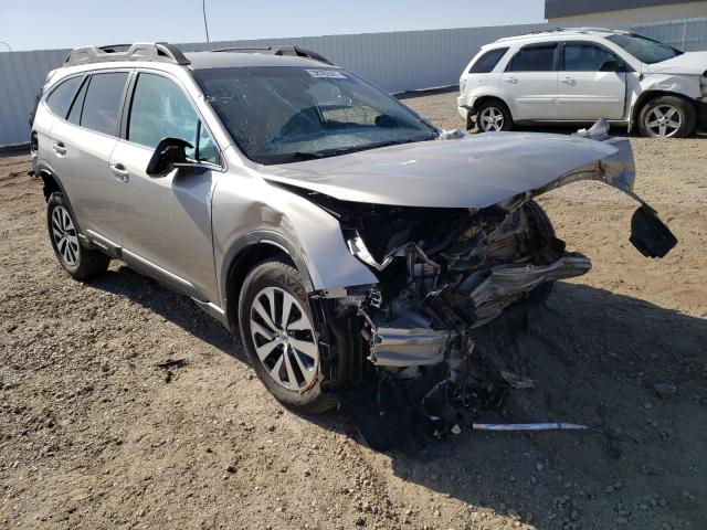 Salvage cars for sale from Copart Bismarck, ND: 2020 Subaru Outback PR