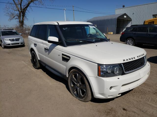 Salvage cars for sale from Copart Montreal Est, QC: 2010 Land Rover Range Rover