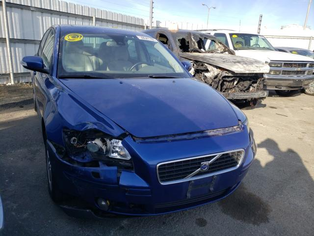 Salvage cars for sale from Copart Martinez, CA: 2007 Volvo S40 T5