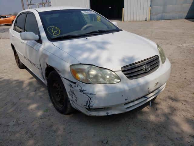 Salvage cars for sale from Copart Corpus Christi, TX: 2003 Toyota Corolla CE