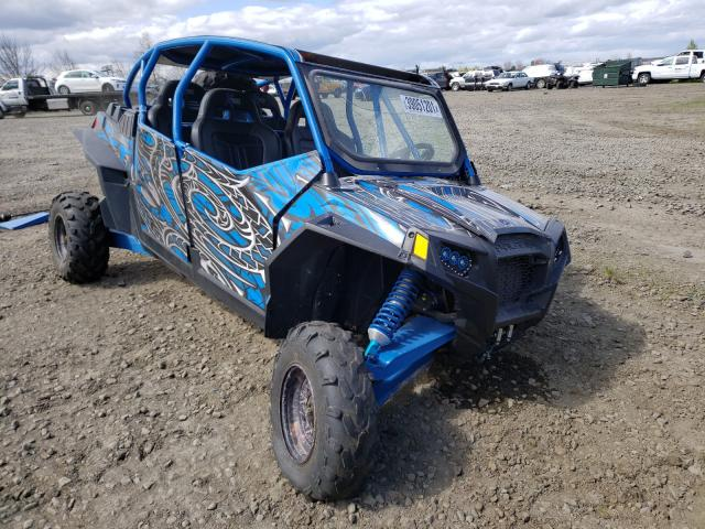Salvage cars for sale from Copart Eugene, OR: 2013 Polaris RZR 4 900