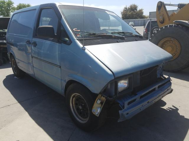 Salvage cars for sale from Copart Sacramento, CA: 1991 Ford Aerostar