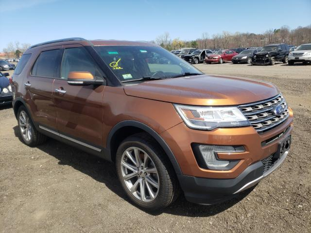 Vehiculos salvage en venta de Copart New Britain, CT: 2017 Ford Explorer L