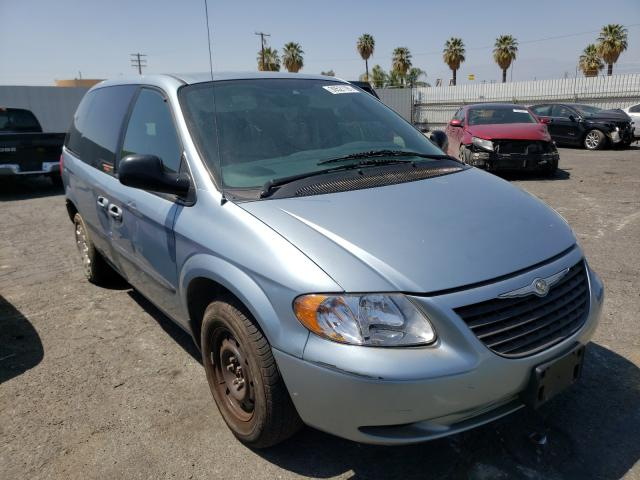 Salvage cars for sale from Copart Colton, CA: 2003 Chrysler Voyager LX