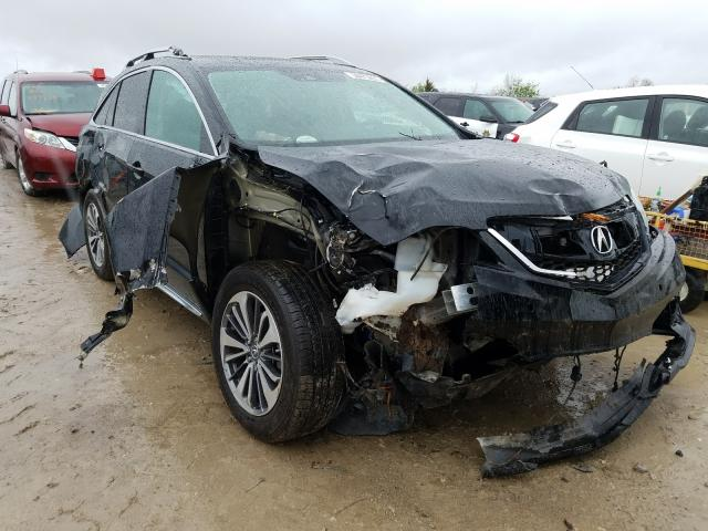 Salvage cars for sale from Copart Kansas City, KS: 2017 Acura RDX Advance