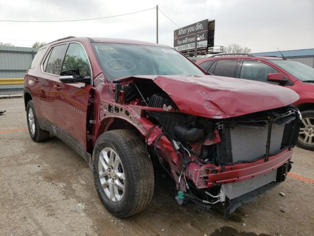 Salvage cars for sale from Copart Wichita, KS: 2021 Chevrolet Traverse L