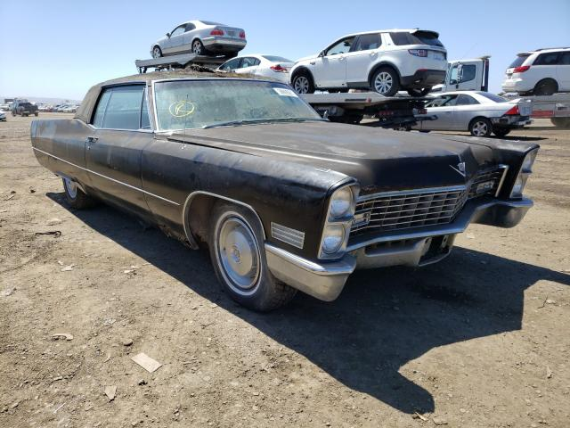 Cadillac salvage cars for sale: 1967 Cadillac Coupe Devi