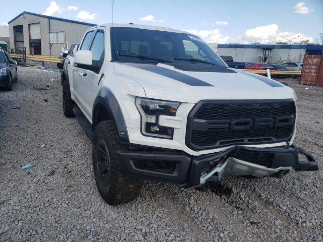 Salvage cars for sale from Copart Hueytown, AL: 2017 Ford F150 Rapto