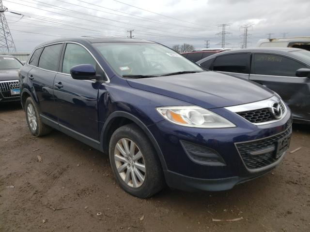 Salvage cars for sale from Copart Elgin, IL: 2010 Mazda CX-9