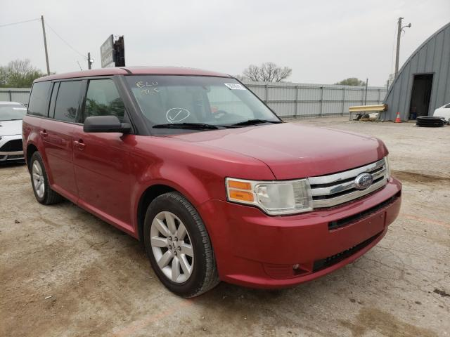 Salvage cars for sale from Copart Wichita, KS: 2009 Ford Flex SE