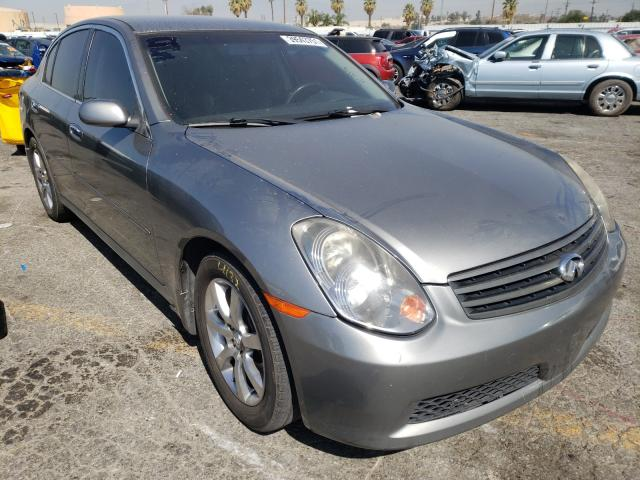 Salvage cars for sale from Copart Colton, CA: 2006 Infiniti G35