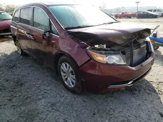 Salvage cars for sale from Copart Spartanburg, SC: 2016 Honda Odyssey