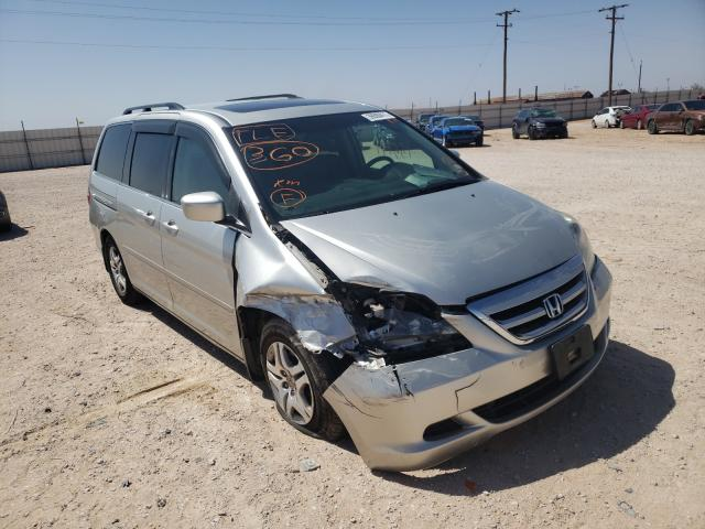 Salvage cars for sale from Copart Andrews, TX: 2007 Honda Odyssey EX