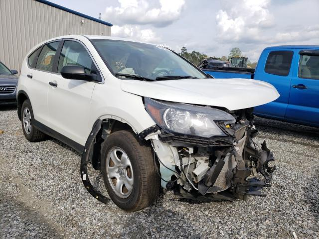 Salvage cars for sale from Copart Spartanburg, SC: 2014 Honda CR-V LX