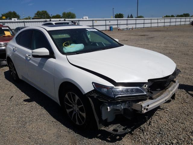 Acura salvage cars for sale: 2015 Acura TLX Tech