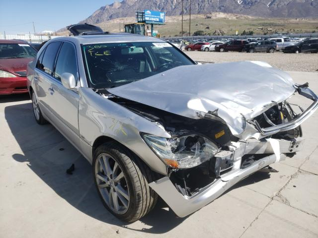Salvage cars for sale from Copart Farr West, UT: 2004 Lexus LS 430