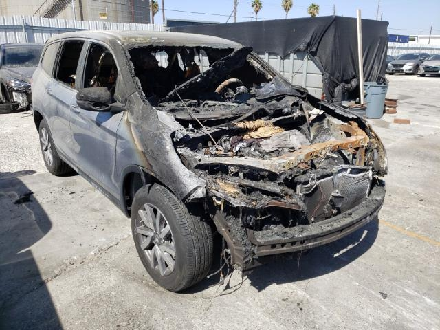 Salvage cars for sale from Copart Wilmington, CA: 2019 Honda Pilot EXL