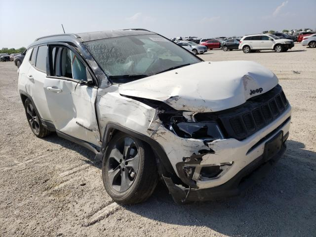 Salvage cars for sale from Copart San Antonio, TX: 2019 Jeep Compass LA