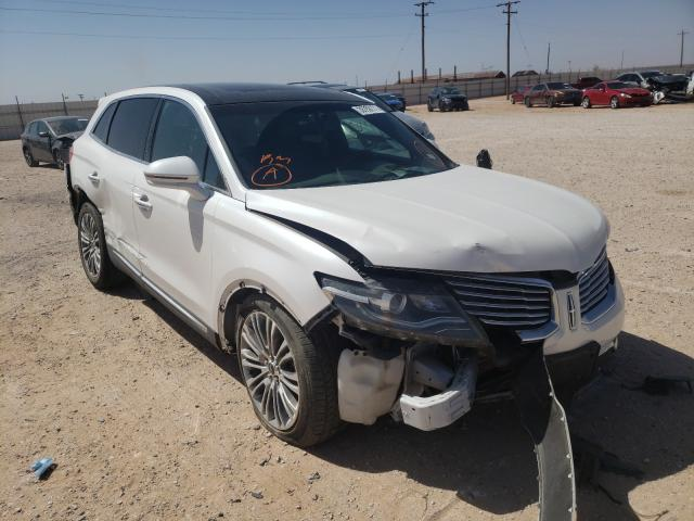 Salvage cars for sale from Copart Andrews, TX: 2017 Lincoln MKX Reserv