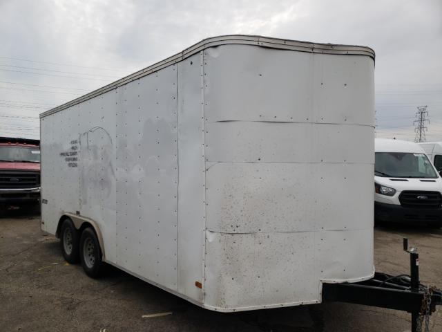 Pace American salvage cars for sale: 2015 Pace American Trailer