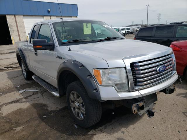 Salvage cars for sale from Copart Woodhaven, MI: 2010 Ford F150 Super