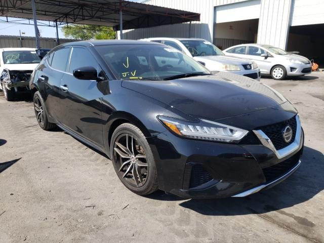 Salvage cars for sale from Copart Orlando, FL: 2019 Nissan Maxima S