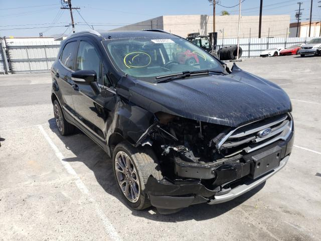 Salvage cars for sale from Copart Sun Valley, CA: 2019 Ford Ecosport T