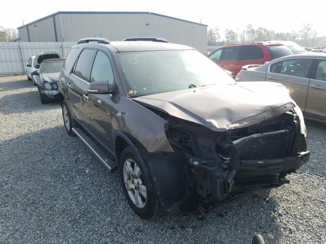 Salvage cars for sale from Copart Spartanburg, SC: 2009 GMC Acadia SLT