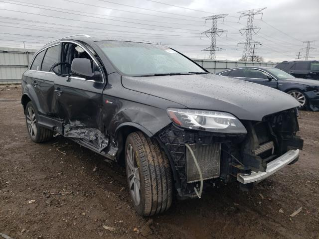 Audi Q7 salvage cars for sale: 2011 Audi Q7