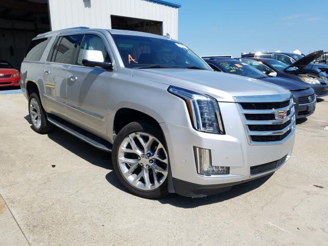 Salvage cars for sale from Copart New Orleans, LA: 2019 Cadillac Escalade E