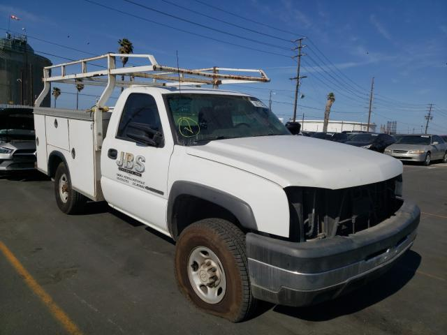 Salvage cars for sale from Copart Wilmington, CA: 2006 Chevrolet Silverado