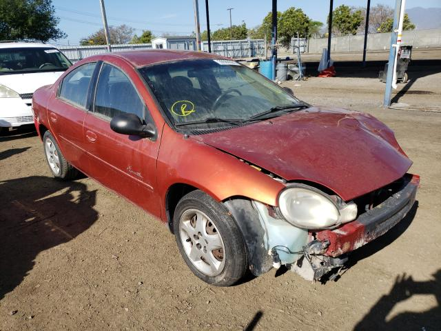 Plymouth salvage cars for sale: 2000 Plymouth Neon