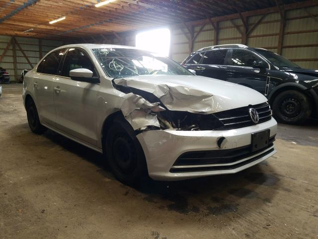 Salvage cars for sale from Copart London, ON: 2017 Volkswagen Jetta SE