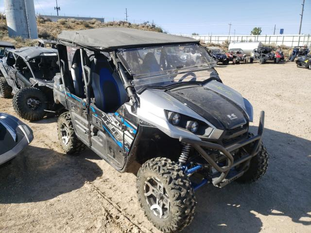 Salvage motorcycles for sale at Reno, NV auction: 2020 Kawasaki KRT800 C