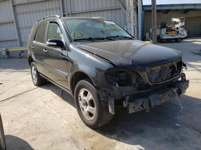 Salvage cars for sale from Copart Corpus Christi, TX: 2003 Mercedes-Benz ML 320