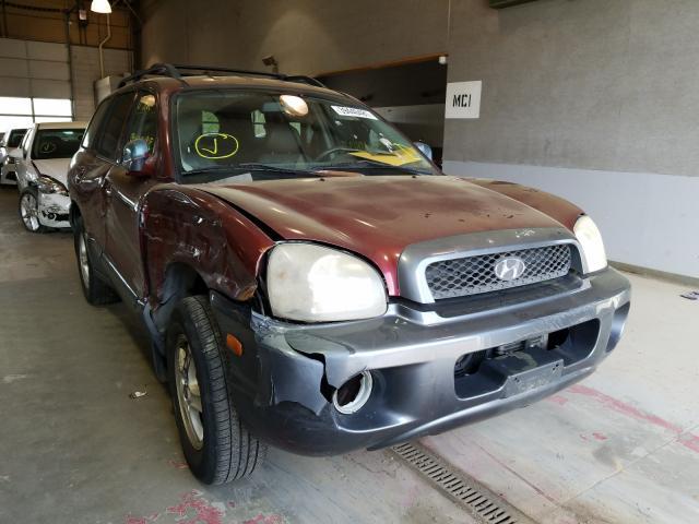 Salvage cars for sale from Copart Sandston, VA: 2001 Hyundai Santa FE