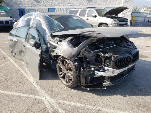Salvage cars for sale from Copart Rancho Cucamonga, CA: 2021 BMW M550XI