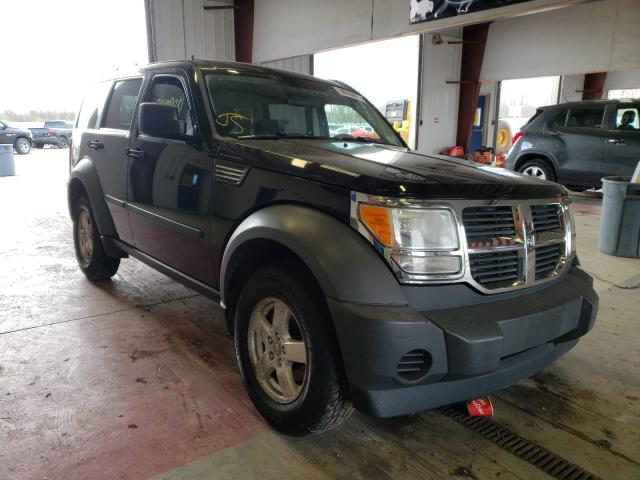 Salvage cars for sale from Copart Angola, NY: 2007 Dodge Nitro SXT
