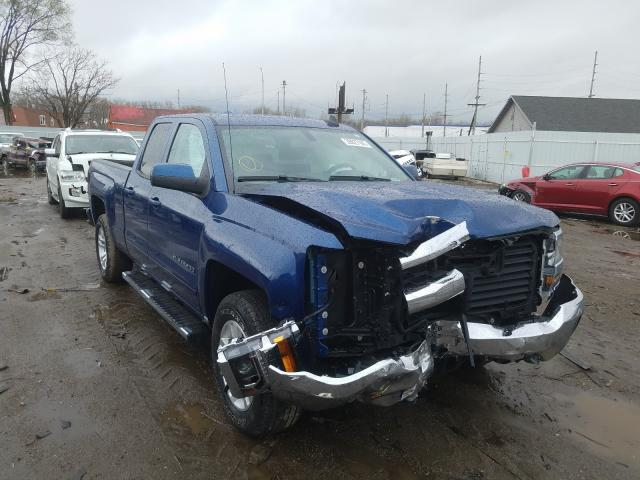 Salvage cars for sale from Copart Hammond, IN: 2018 Chevrolet Silverado