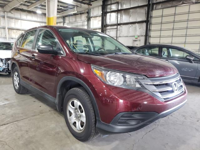 Salvage cars for sale from Copart Woodburn, OR: 2013 Honda CR-V LX