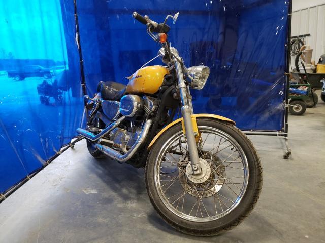 Harley-Davidson XL883 C salvage cars for sale: 2005 Harley-Davidson XL883 C