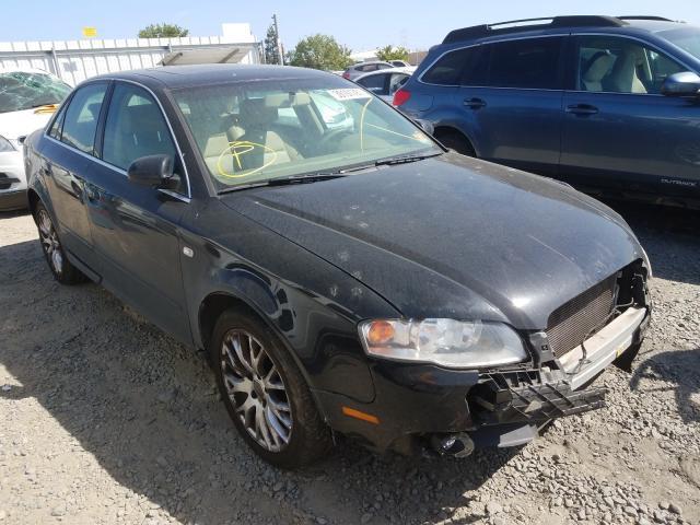 Vehiculos salvage en venta de Copart Sacramento, CA: 2008 Audi A4 2.0T Quattro