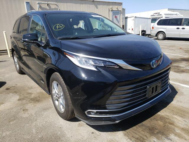 2021 Toyota Sienna LIM for sale in Hayward, CA
