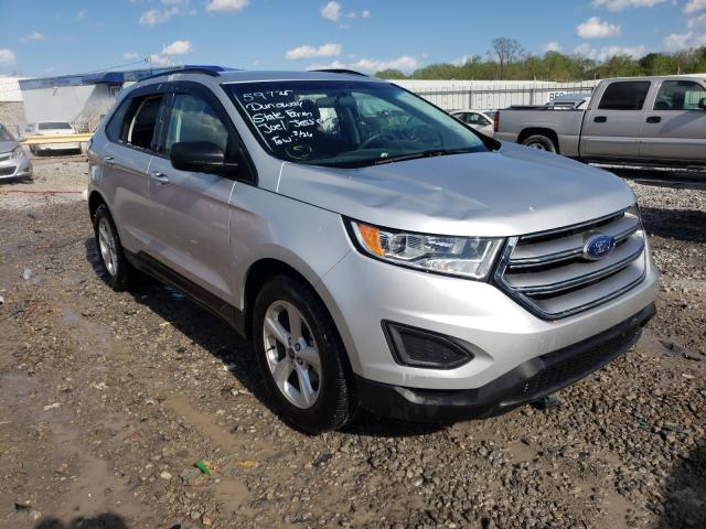 Salvage cars for sale from Copart Hueytown, AL: 2018 Ford Edge SE