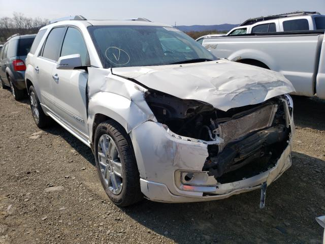 Salvage cars for sale from Copart Chambersburg, PA: 2015 GMC Acadia DEN