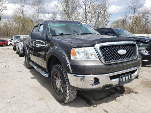 Salvage cars for sale from Copart Ellwood City, PA: 2006 Ford F150 Super